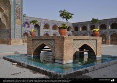 Arquitectura islámica- Una vista de la mezquita Yame (Jame) de Isfahán - 39