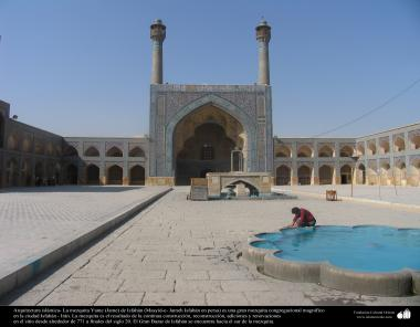 Islamic Arquitechture-  internal view of Jame Mosque  (Jame) in Isfahan-Iran, built and renewed y since 771 till nowdays - 8