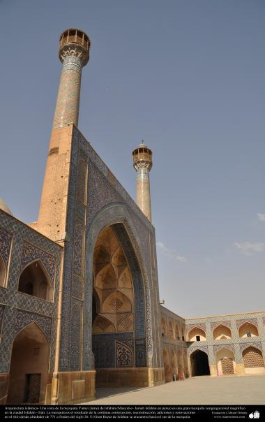 Islamic Arquitechture - Jame Mosque  in Isfahan-Iran. built and renewed since 771until nowdays - 48