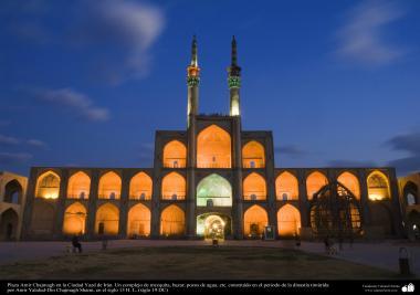Arquitectura islámica – Plaza Amir Chajmagh en la Ciudad Yazd - 223