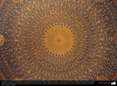 Arte islámico – Azulejos y mosaicos islámicos (Kashi Kari) realizados en paredes, techos, cúpulas, minaretes de las mezquitas y edificios islámicos - 3