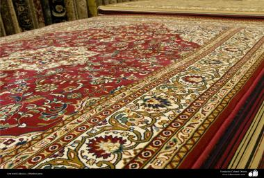 Handicraft – Textile Art – Persian Carpets - Persian carpet made in the city of Kerman