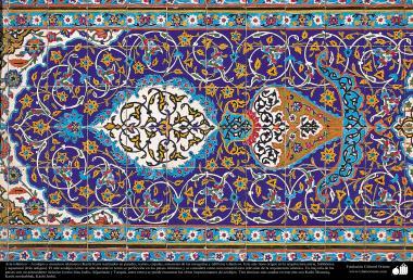 イスラム建築(イスラム世界におけるモスクなどの壁、天井、ドーム、ミナレットのデコレーション)-48