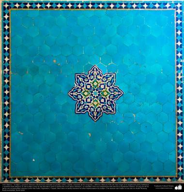 Arte islámico – Azulejos y mosaicos islámicos (Kashi Kari) realizados en paredes, techos, cúpulas, minaretes de las mezquitas - 36