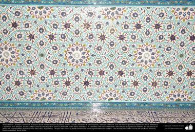 Arte islámico – Azulejos y mosaicos islámicos (Kashi Kari) realizados en paredes, techos, cúpulas, minaretes de las mezquitas - 11