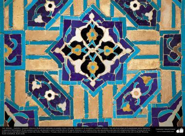 اسلامی معماری - اسلام کی مسجد اور عمارتوں میں فن کاشی کاری اور ٹائل کا ایک نمونہ ، دیوار، چھت، گنبد اور مینارہ کی سجاوٹ کے لیے - ۷۲