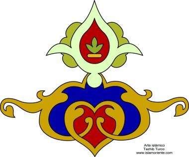 イスラム美術(トランジとシャムススタイルのペルシアギルディング、貴重なページやテキストの装飾)- 7