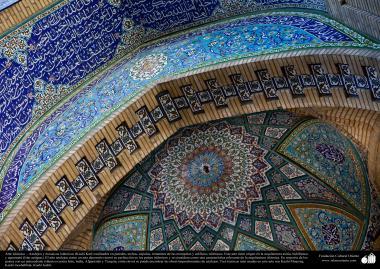 Arte Islâmica - Azulejos e mosaicos islâmicos (Kashi Kari) utilizados para decoração nas mesquitas e prédios islâmicos em todo o mundo - 26
