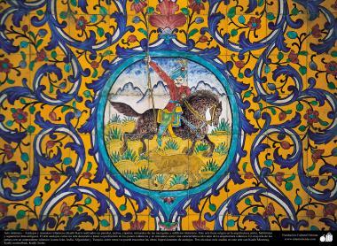 Arte islámico – Azulejos y mosaicos islámicos (Kashi Kari) - 51