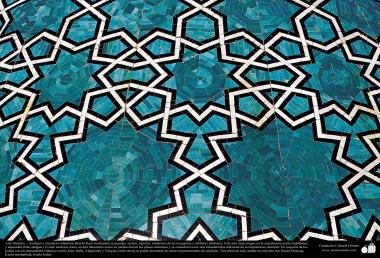 Islamic Art - enamel and mosaic (Kashi Kari) - 44