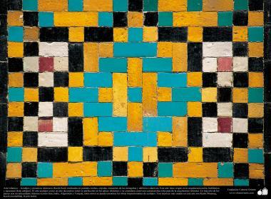 Islamic Art – Mosaic and islamic tiles (Kashi Kari) - 96