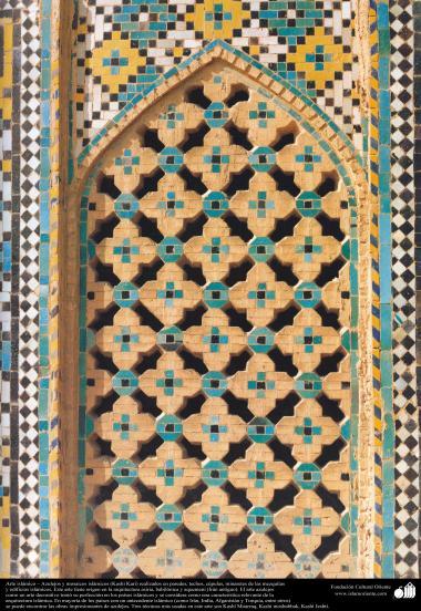 イスラム建築(装飾のためにモスクやイスラム世界における建物の壁、天井、ドーム、ミナレットで使用されるタイル) - 93