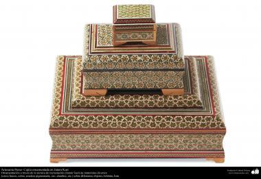Исламское искусство - Ремесло - Хатам Кари (Инкрустация) - Декоративные вещи - 9