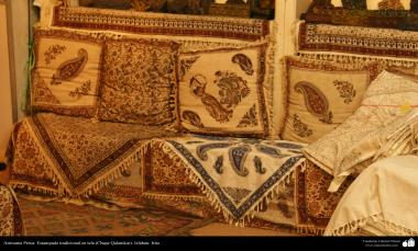 Artesanía Persa- Estampado tradicional en tela (Chape Qalamkar) - 14