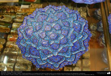 Arte islamica-Artigianato-Mina Kari o lo smalto-Oggetti ornamentali-41