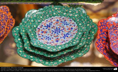 Arte islamica-Artigianato-Mina Kari o lo smalto-Oggetti ornamentali-44