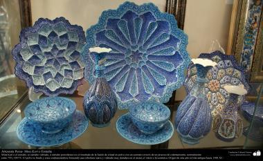 Artesanato Persa - diferentes objetos dedecoração - Mina Kari - Esmaltagem