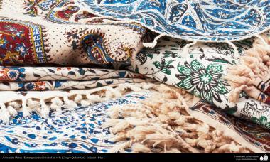 Artesanato Persa - Varias estampas em tecidos tradicionais (Chape Qalamkar)
