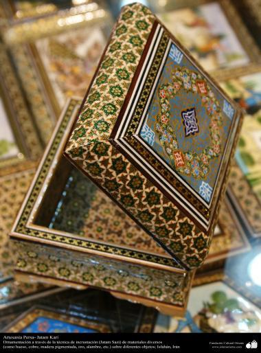 Artesanía Persa- Jatam Kari (Marquetería y Ornamentación de objetos) - 72