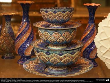 イスラム芸術(工芸品、エナメル作業、装飾的な物体)45