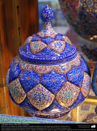 Persisches Kunsthandwerk - Mina Kari oder Politur - 28 - Foto