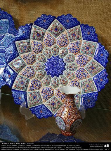 Arte islamica-Artigianato-Mina Kari o lo smalto-Oggetti ornamentali-17