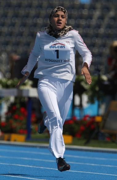 Muslim Woman and Sport - Arab athlete