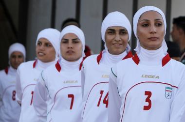 Muslim Woman and Sport - Iranian athletes