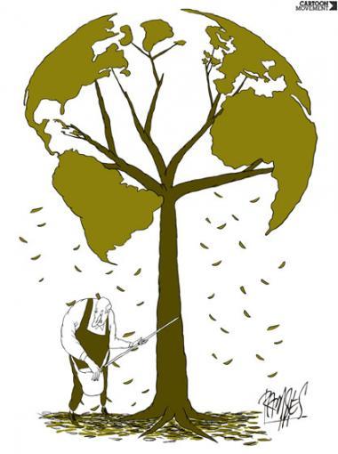 پاییز (کاریکاتور)