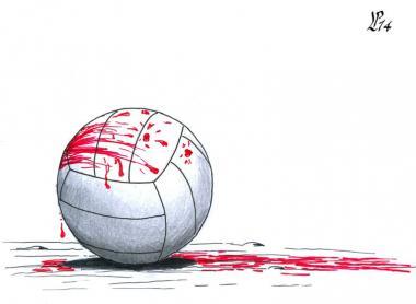 شوت در بازی (کاریکاتور)