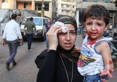 El atentado terrorista en Beirut