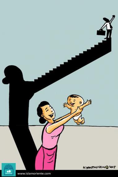 Esperanza en el mañana (Caricatura)