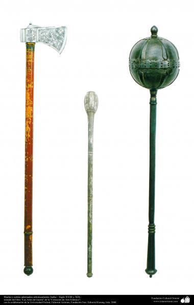 Военные и декоративные инструменты - Декоративная секира - Индия - В 18 и 19 веке