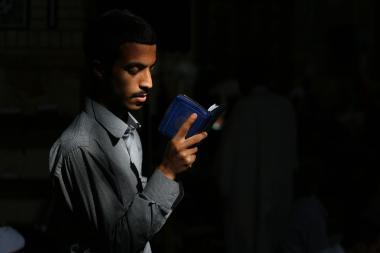 Un momento con Dios         Foto: mohammad hosein Imami