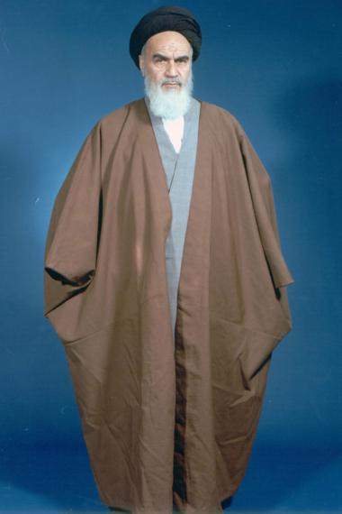 Imam Khomeini - Anführer der islamischen Revolution im Iran (1979)