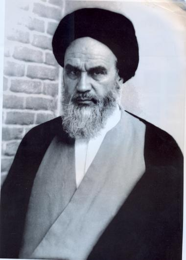 Ruhollah Musawi al-Khomeini, founder of the Islamic Revolution of Iran