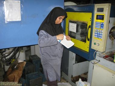 Frauen mit Hijab in allen Bereichen der Wissenschaft - Die muslimische Frau und die Arbeit - Foto