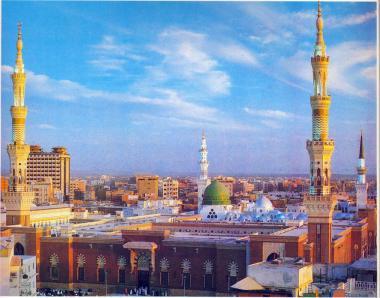 La Mosquée du Prophète de l'Islam à Médine