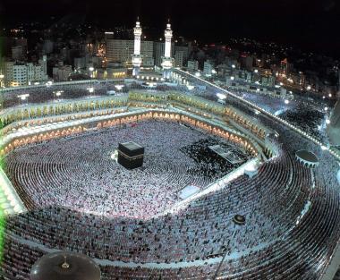 Masdschid al-Haram in Mekka - Pilgerfahrt - Mekka und Medina in Saudi-Arabien - Mekka in Saudi-Arabien - Foto