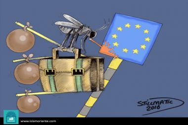 Caricatura - Migração