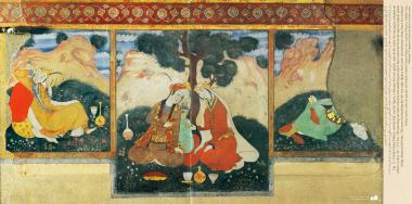 مینیاتور - نقاشی دیواری - چهل ستون (کاخ چهل ستون)  در شهرستان اصفهان - 3