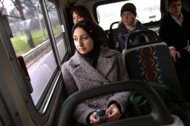 Donna araba della diaspora in Europa