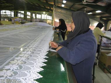 イスラム教の女性の仕事(繊維産業)