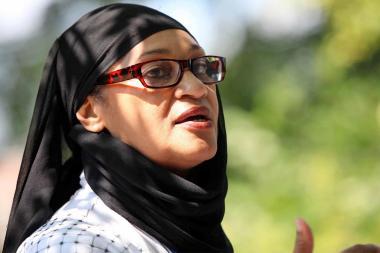 スーダン人の女の人