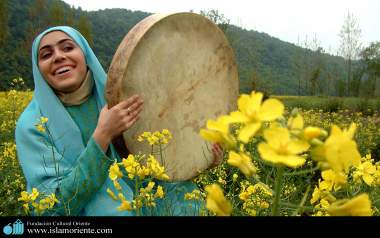 Mulher muçulmana e a natureza