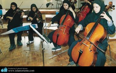 イスラム教の女性の音楽