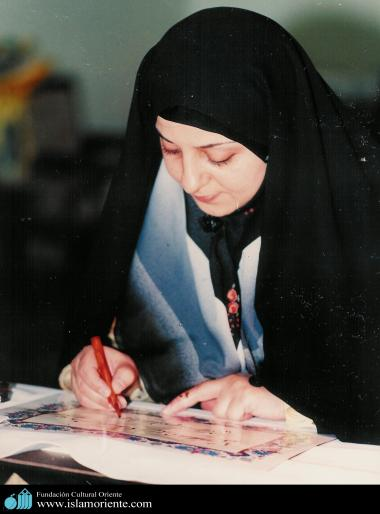 Mulher muçulmana e a arte - 2