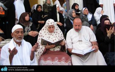 イスラム教の女性の宗教的な活動-205