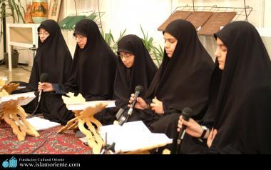 Mulheres muçulmanas na leitura do Alcorão Sagrado
