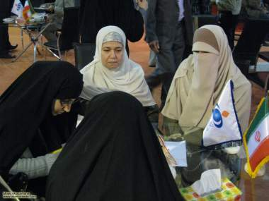 Mulheres muçulmanas em atividades sócio culturais - 21